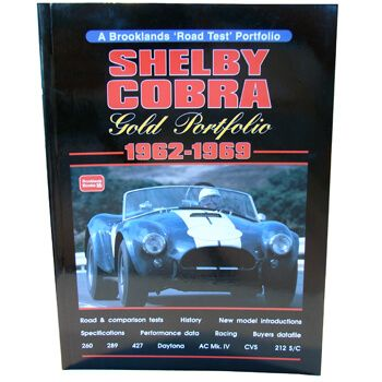Livro Shelby Cobra Gold Portfolio - CAR TECH  - PRO-1 Serious Performance