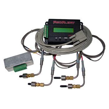 """Sistema Telemetria Data Log """"RedAlert"""" com 4 Sensores Egt""""s - Aviso Programável e Caixa de Junção  - PRO-1 Serious Performance"""
