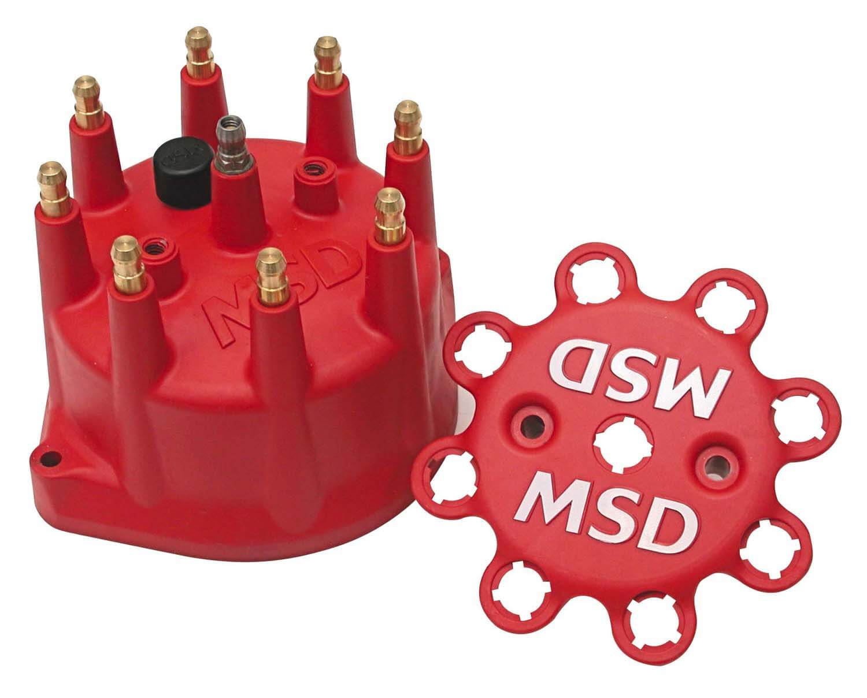 Tampa para Distribuidor MSD Pro Billet Diâmetro Menor - V8  - PRO-1 Serious Performance