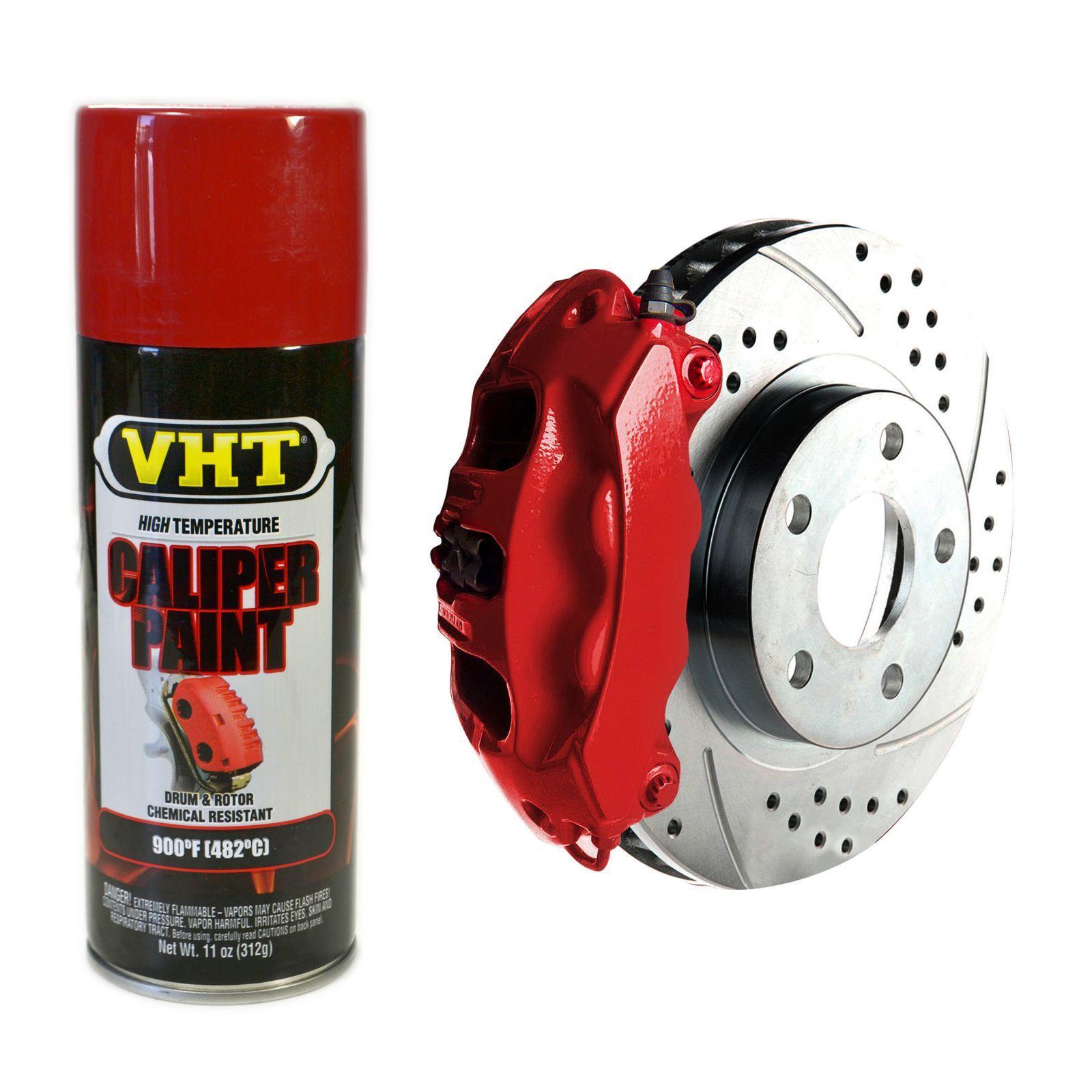 Tinta Spray Para Freio Vermelho 480°C - VHT  - PRO-1 Serious Performance