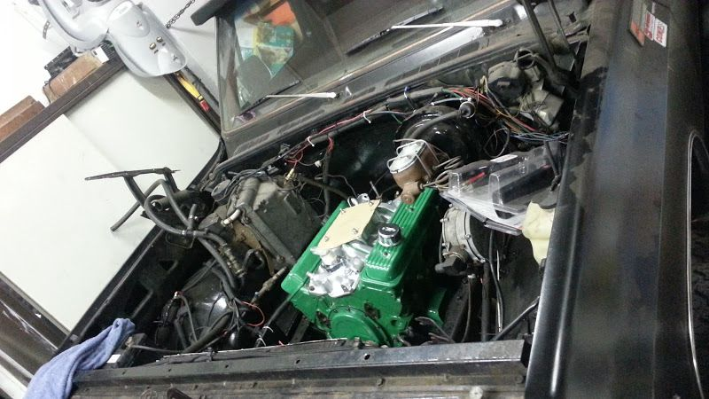 Tinta Spray Para Motor Verde 288°C - VHT  - PRO-1 Serious Performance