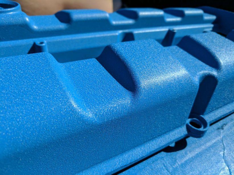 Tinta Spray Wrinkle Texturizada Azul 180°C  - PRO-1 Serious Performance
