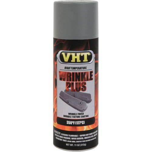 Tinta Spray Wrinkle Texturizada Cinza 180°C - VHT  - PRO-1 Serious Performance