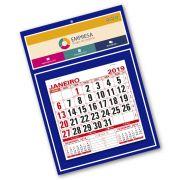 Calendário de Parede | 27x37,8cm | Arte Padrão | Impressão Colorida Frente | P110