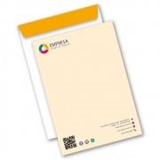 Envelope Saco | 24x34cm | Sulfite 90g | Impressão Colorida Frente (Aberto)