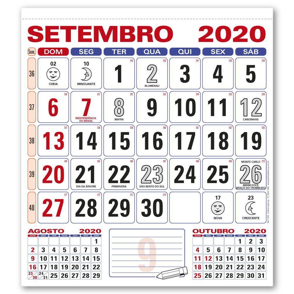Miolo Calendário de Parede | 28,5x31,5cm | Sulfite 56g | Arte com Aniversários de SC | Impressão Colorida Frente | P100