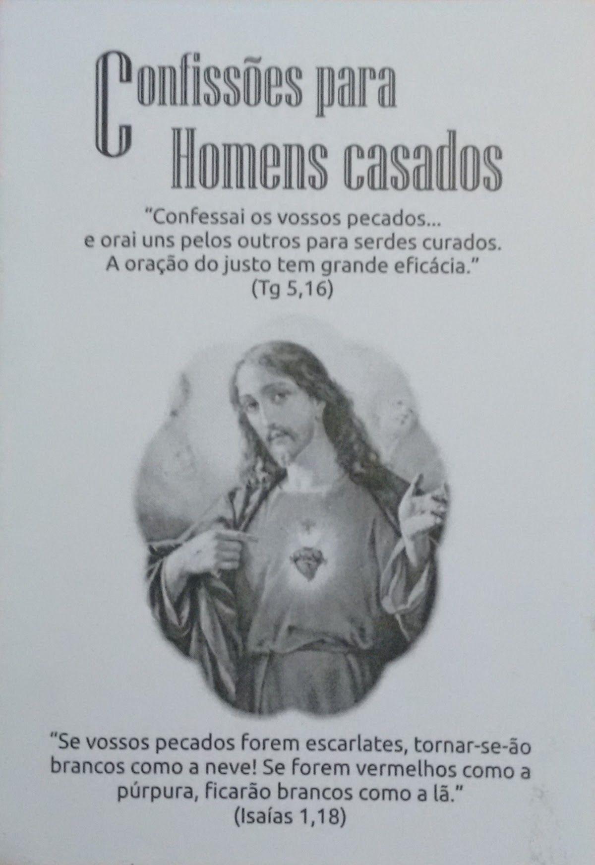 Confissões para Homens Casados  - Livraria Santa Cruz