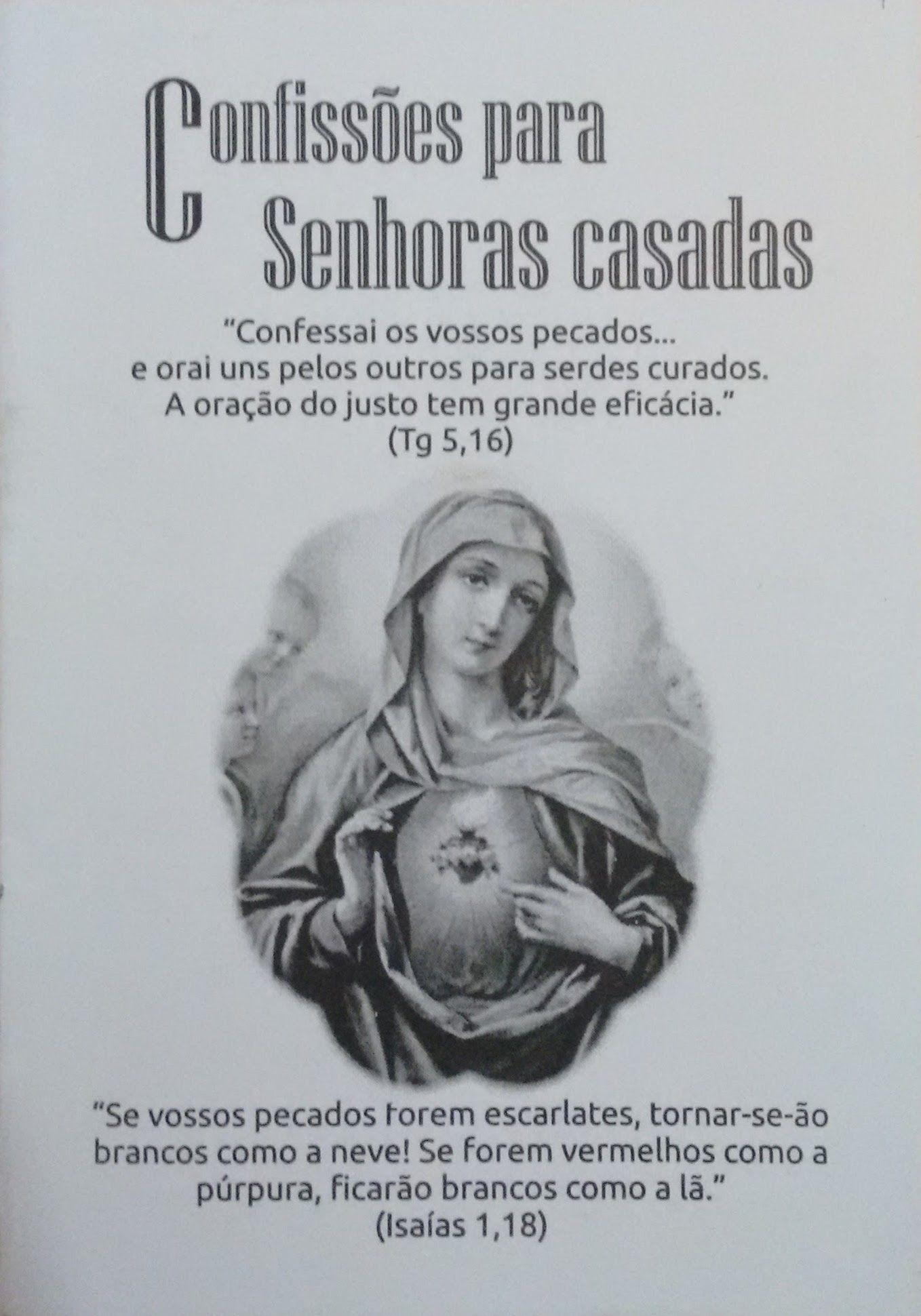 Confissões para Senhoras Casadas  - Livraria Santa Cruz