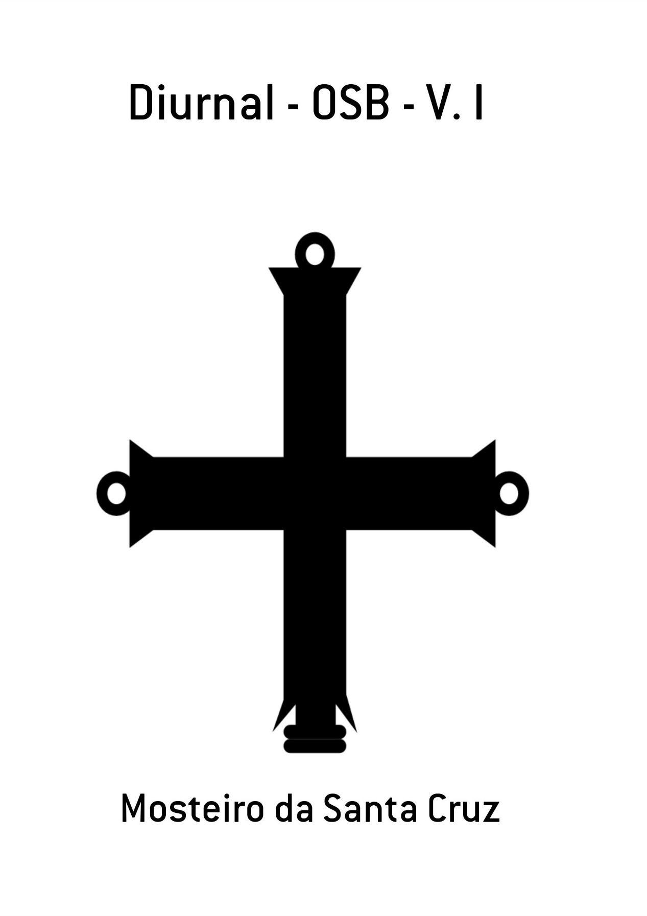 Diurnal Monástico Beneditino - V. I  - Livraria Santa Cruz
