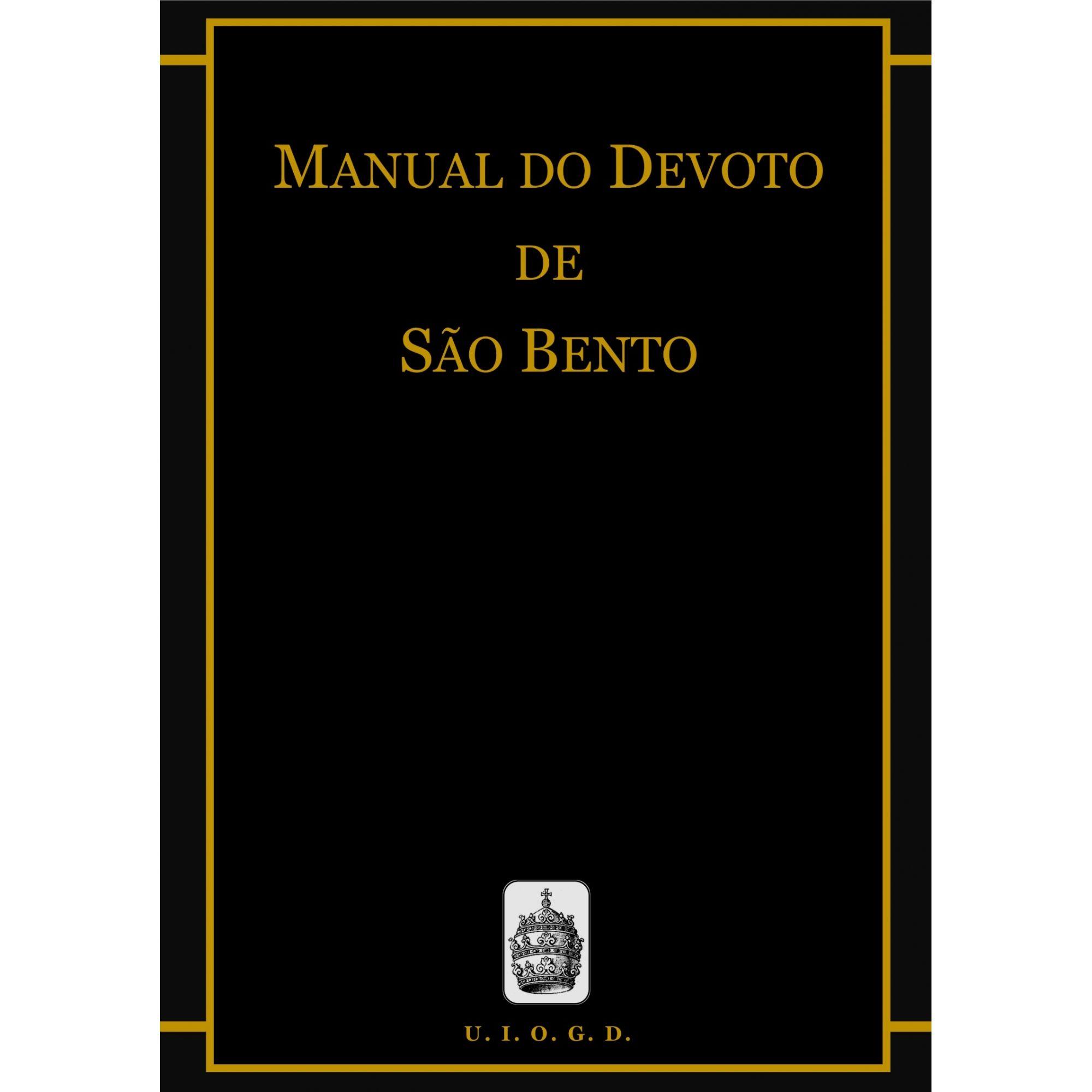 Manual do Devoto de São Bento  - Livraria Santa Cruz
