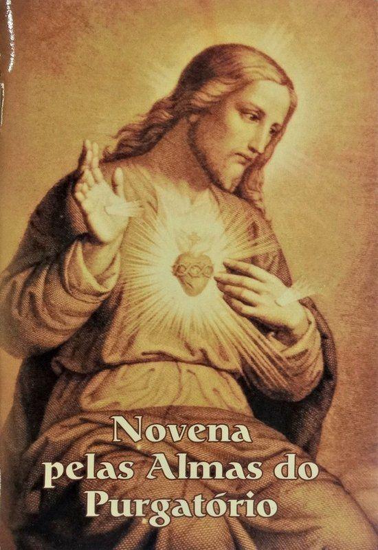 Novena pelas Almas do Purgatório - Rev. Pe. Victor Jouet  - Livraria Santa Cruz