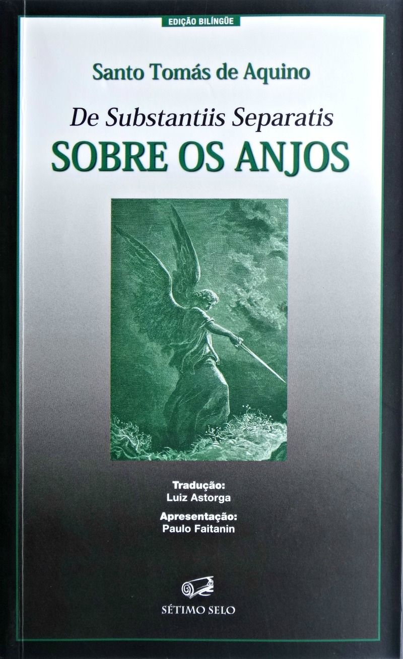 Sobre os Anjos - Santo Tomás de Aquino - Edição Bilíngue  - Livraria Santa Cruz