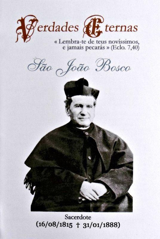 Verdades eternas - São João Bosco  - Livraria Santa Cruz
