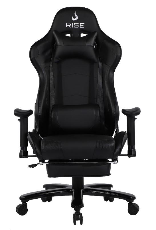 Cadeira Gamer Rise Mode A1 Preto Com Massageador  - Loja Rise Mode