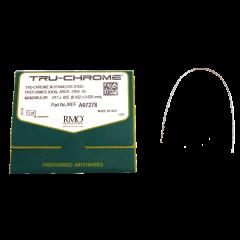 Tru-Chrome - Arcos Pré Contornados - Aço  - N&F Ortho Dental