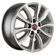 Jogo 4 rodas KR S-02 Fiat Toro 2018 aro 16 5X110 grafite e diamante tala 6 ET28