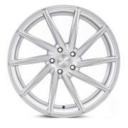 Jogo 4 rodas Presenza PRZ-1059 Vossen CVT aro 20 5x112 tala 8,5 ET35 hiper silver