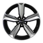Jogo 4 rodas Raw MC/A14 Audi RS4 2018 aro 20 5x112 tala 8 preto semi fosco ET45