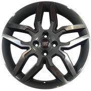 Jogo com 4 rodas Zunky ZK-530 Idea Sport aro 14 furacão 4X98 grafite diamante tala 6