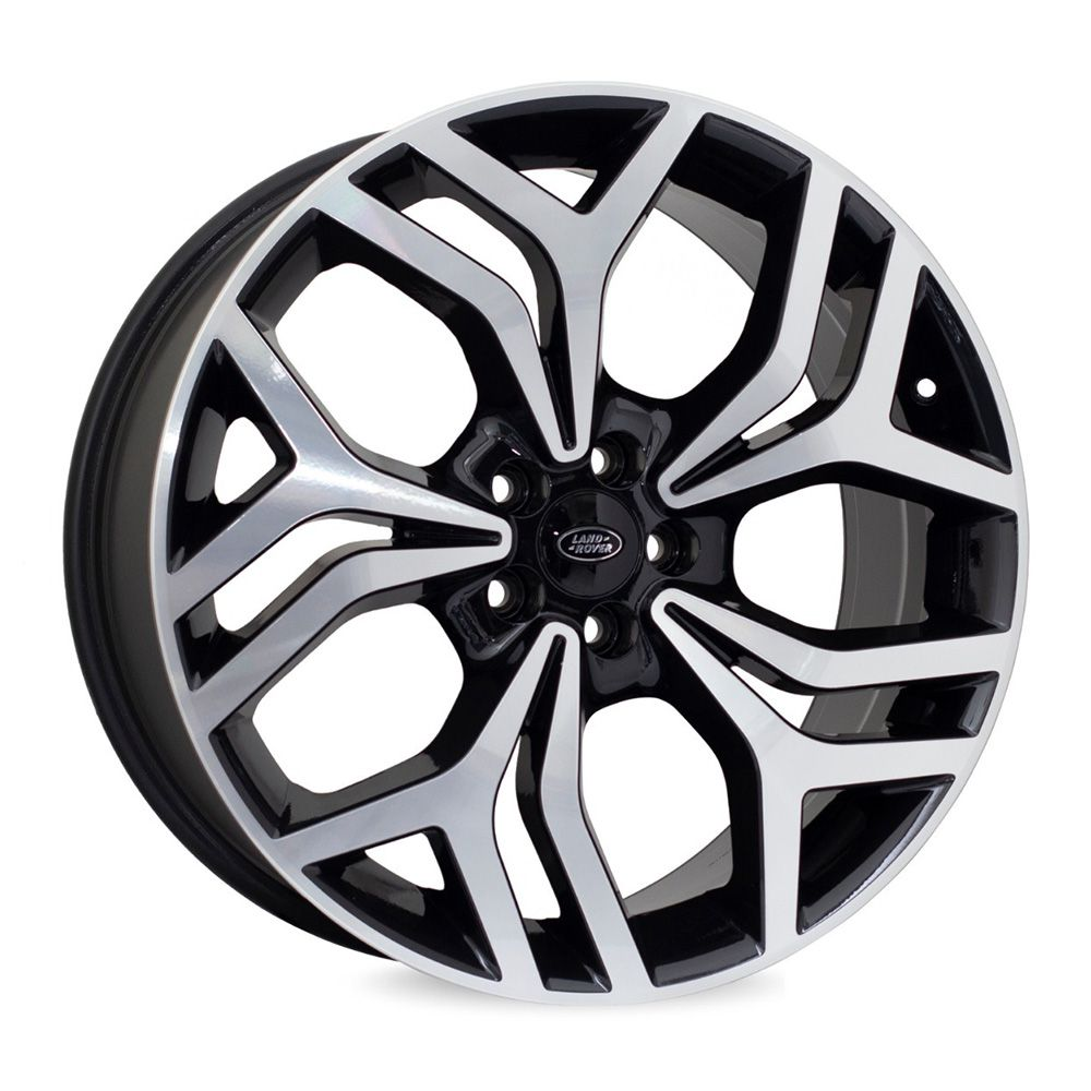 Jogo 4 rodas Raw MC/L11 Land Rover New Velar aro 22 5x120 tala 9 preto e diamante ET48