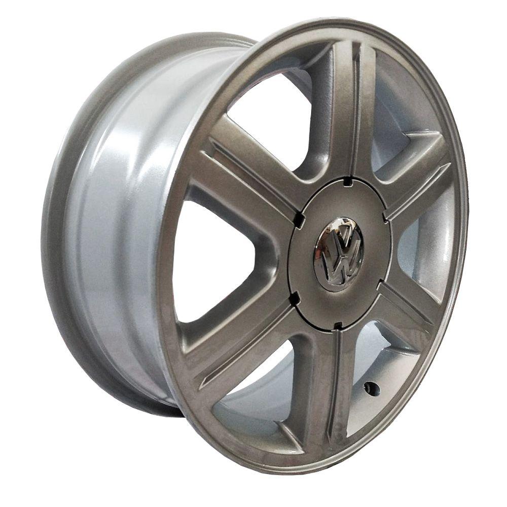 Jogo 4 rodas Zunky ZK-420 Gol Rally aro 18 furação 4X100 acabamento prata tala 6 ET 42