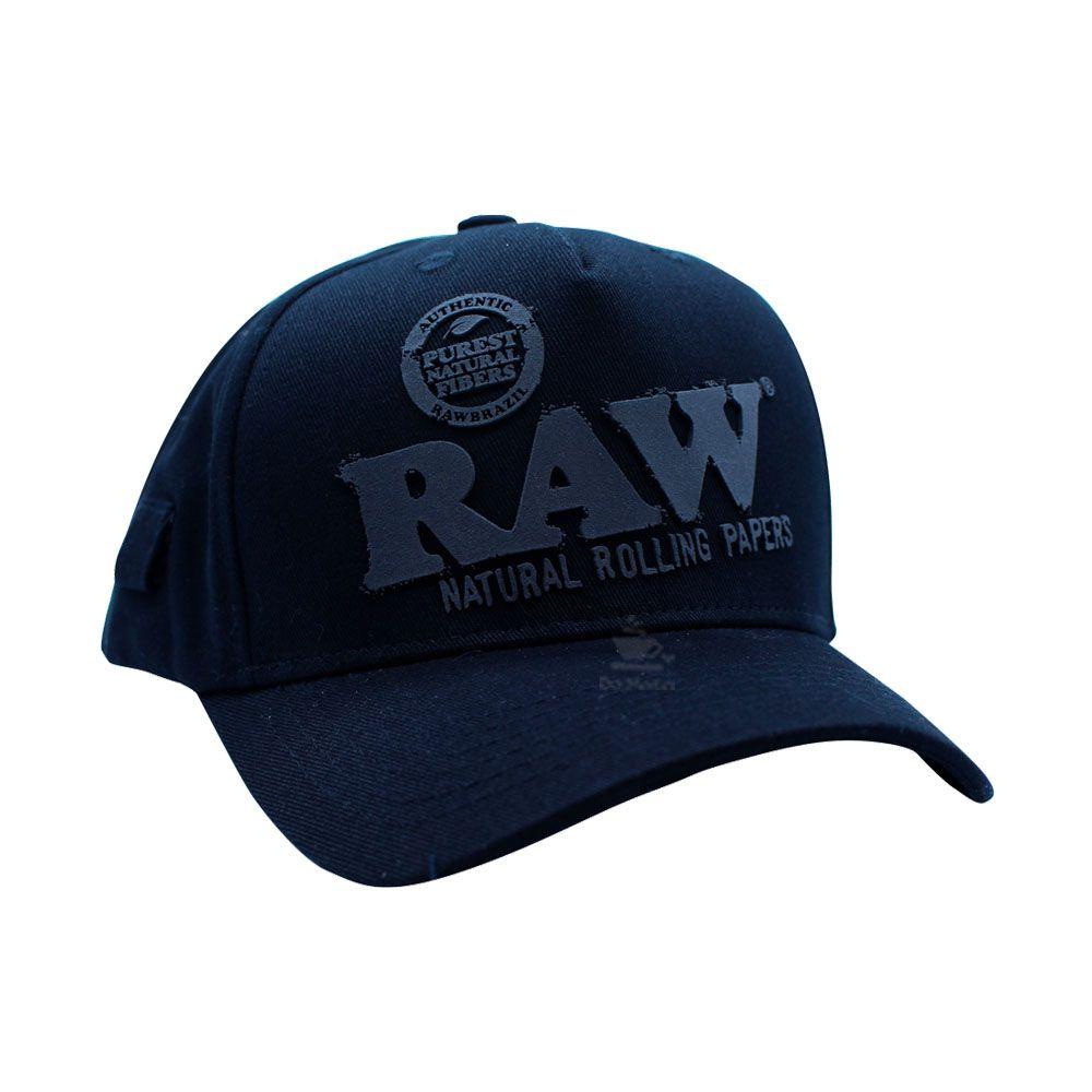 Boné Raw Aba Reta All Black