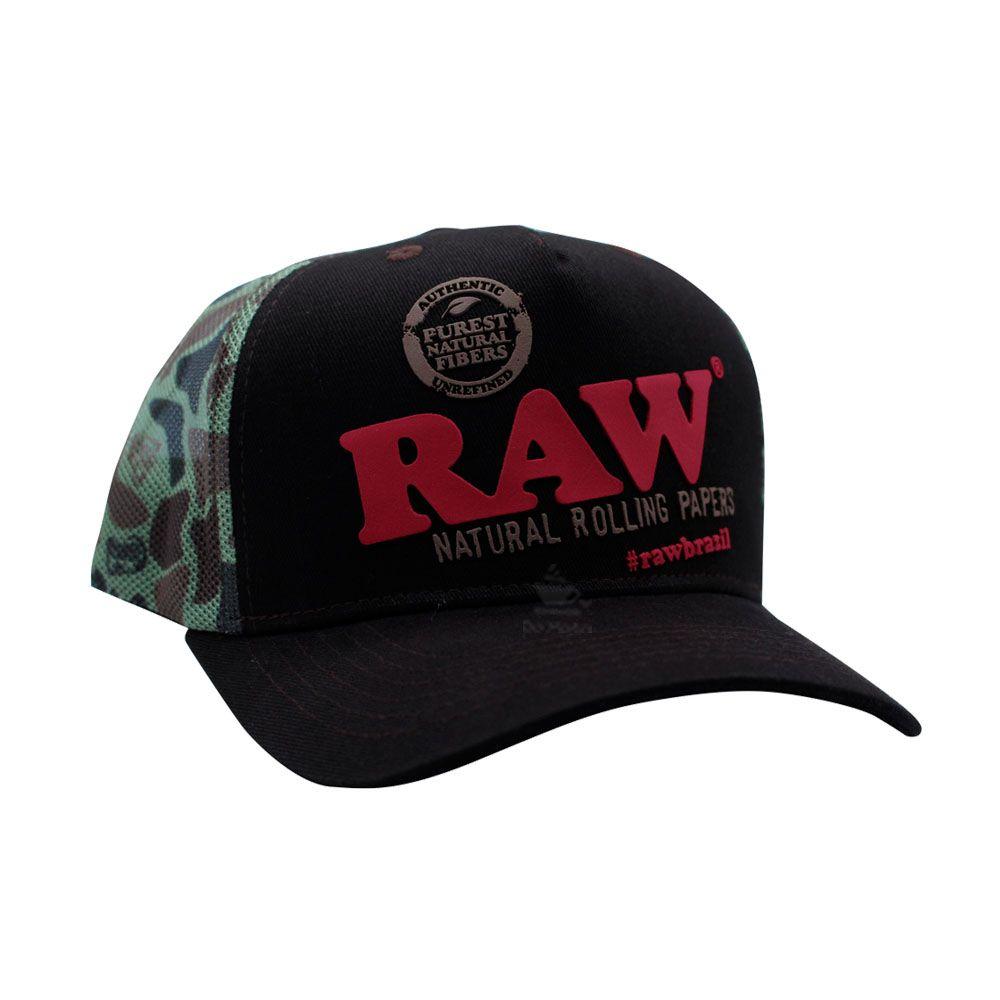 Boné Raw Camuflado
