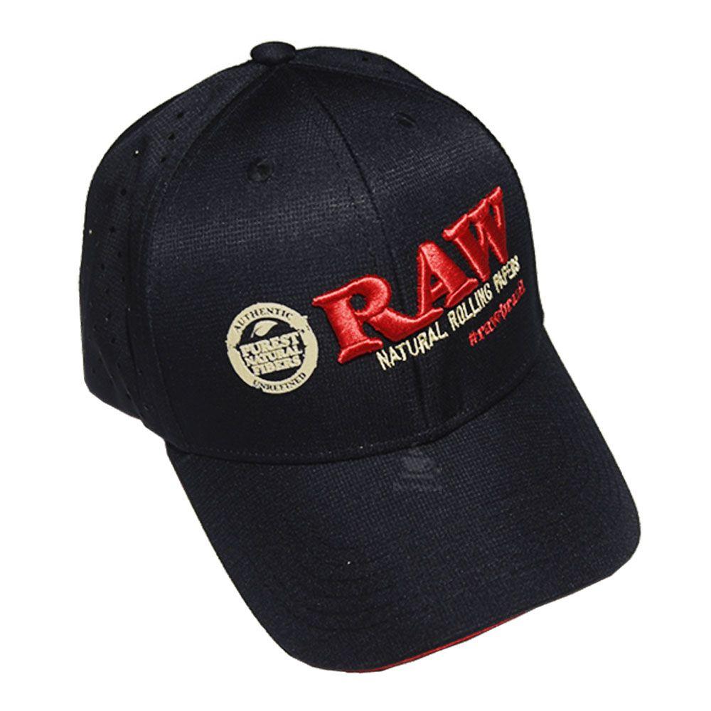 Boné Raw Preto