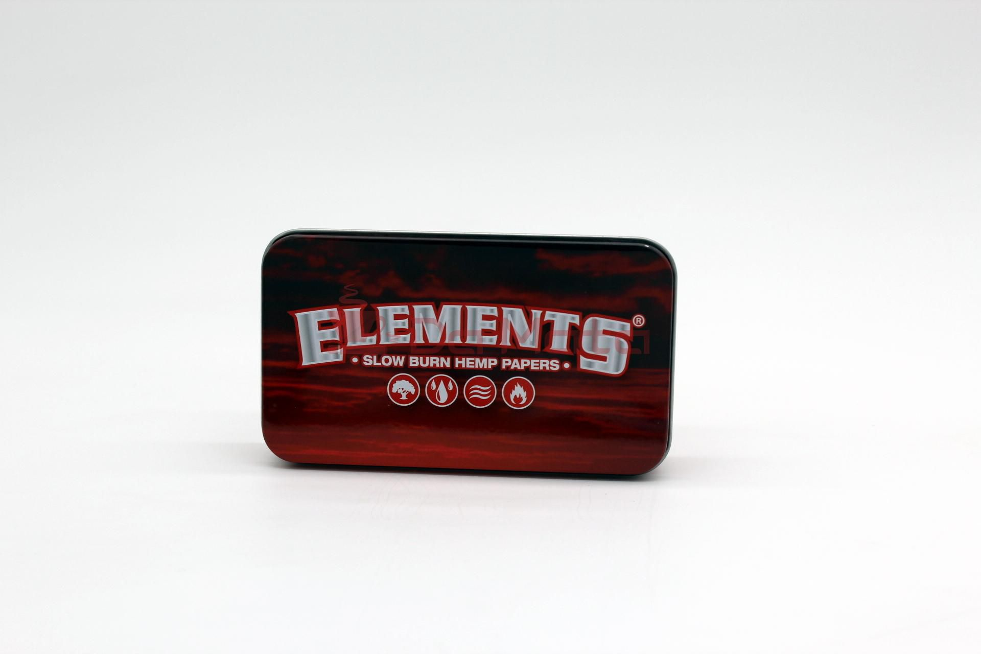 Caixa de Metal Elements - RED