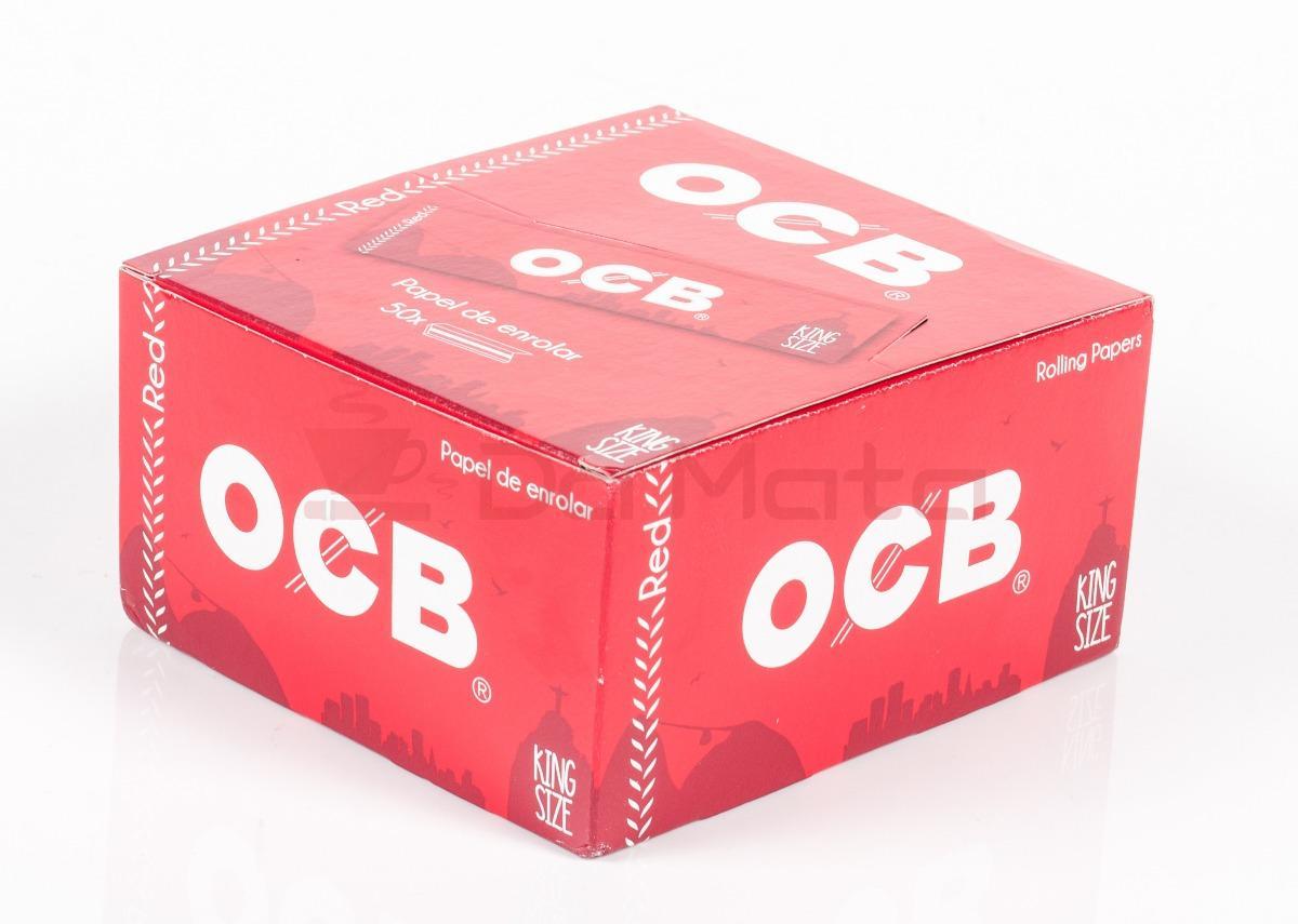 Caixa de Seda OCB RED
