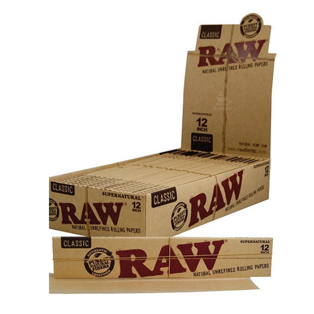 Caixa de Seda Raw 12 Inch