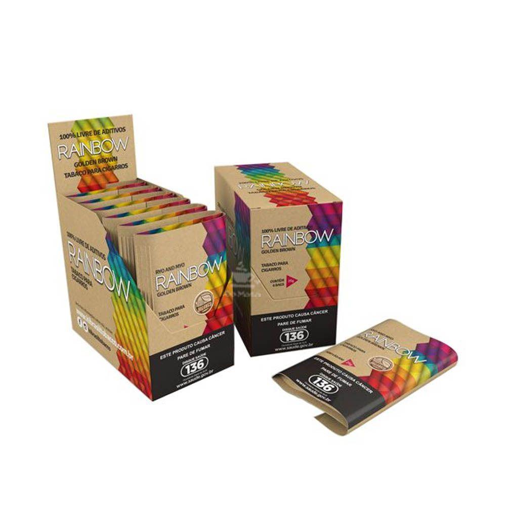 Caixa de Tabaco Rainbow - Golden Brown