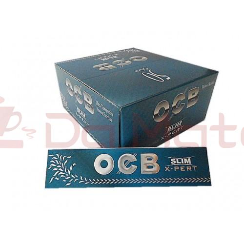 Caixa Seda OCB Blue X-Pert Slim ORIGINAL