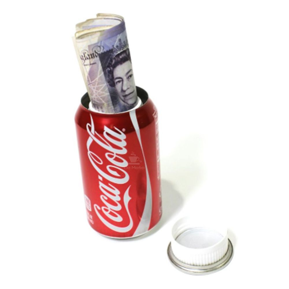 Esconderijo Lata de Coca-Cola