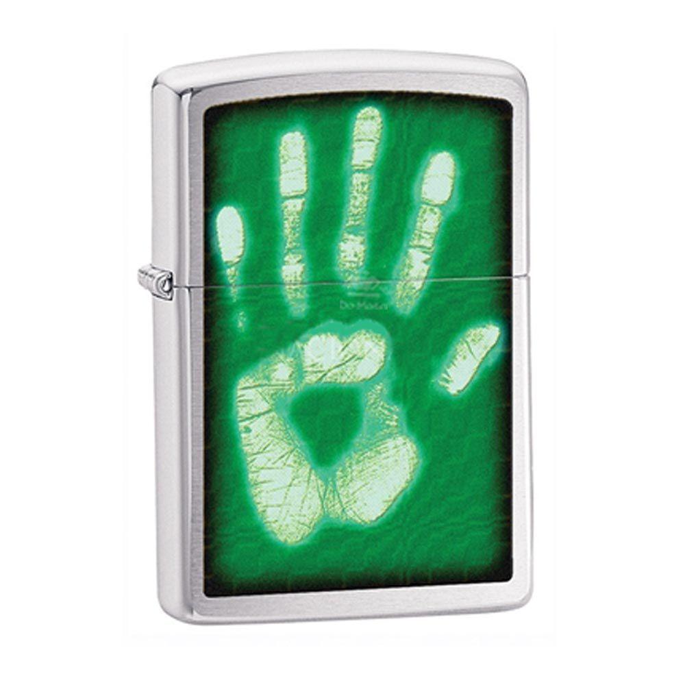 Isqueiro Zippo - Mão Verde