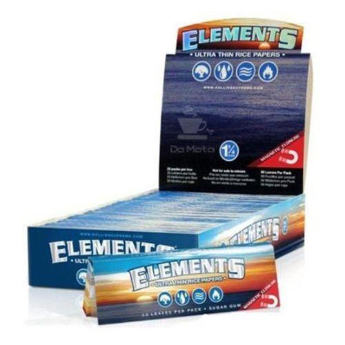 Caixa de Seda Elements 1 1/4
