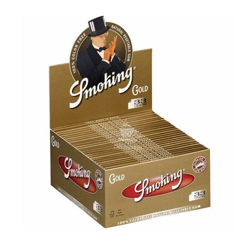 Caixa de Seda Smoking Gold