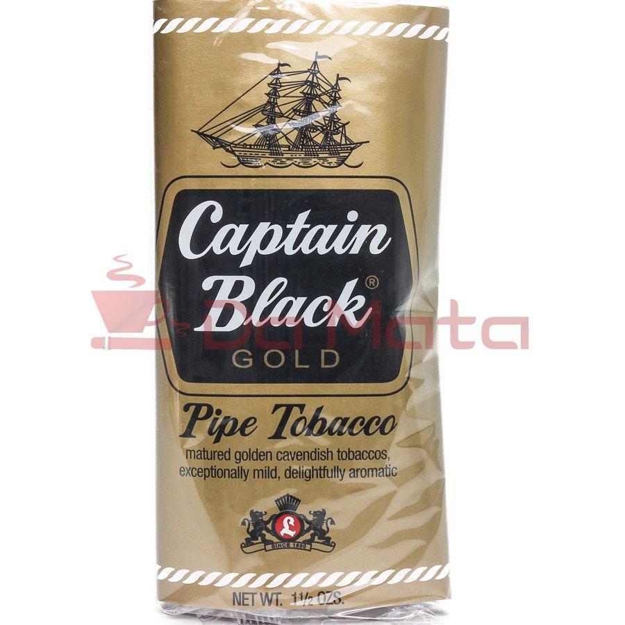 Tabaco para Cachimbo - Captain Black -Gold