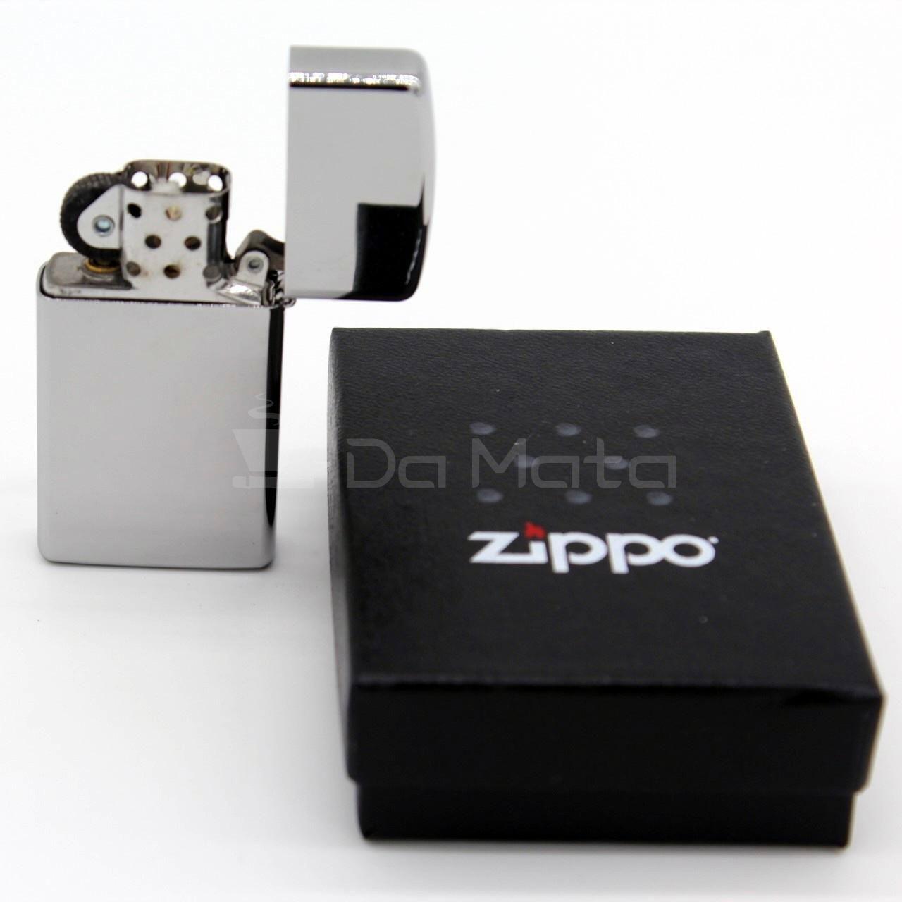 Zippo Cromado pequeno