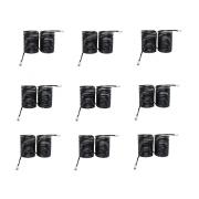 Kit 10 Condensadora Helicoidal Tipo Mola 3/8 HP Para Freezer