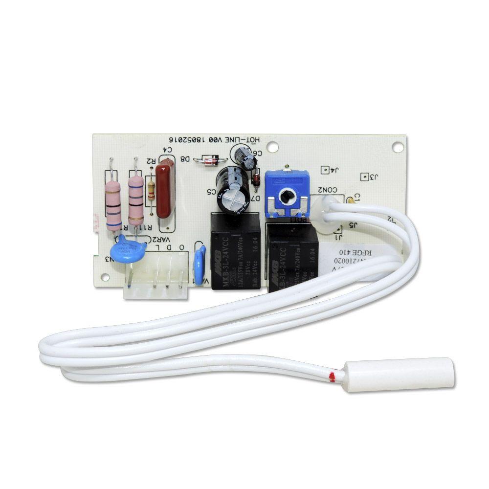 Placa Refrigerador Ge 410l Hot Line 220v Wa225d2354g009