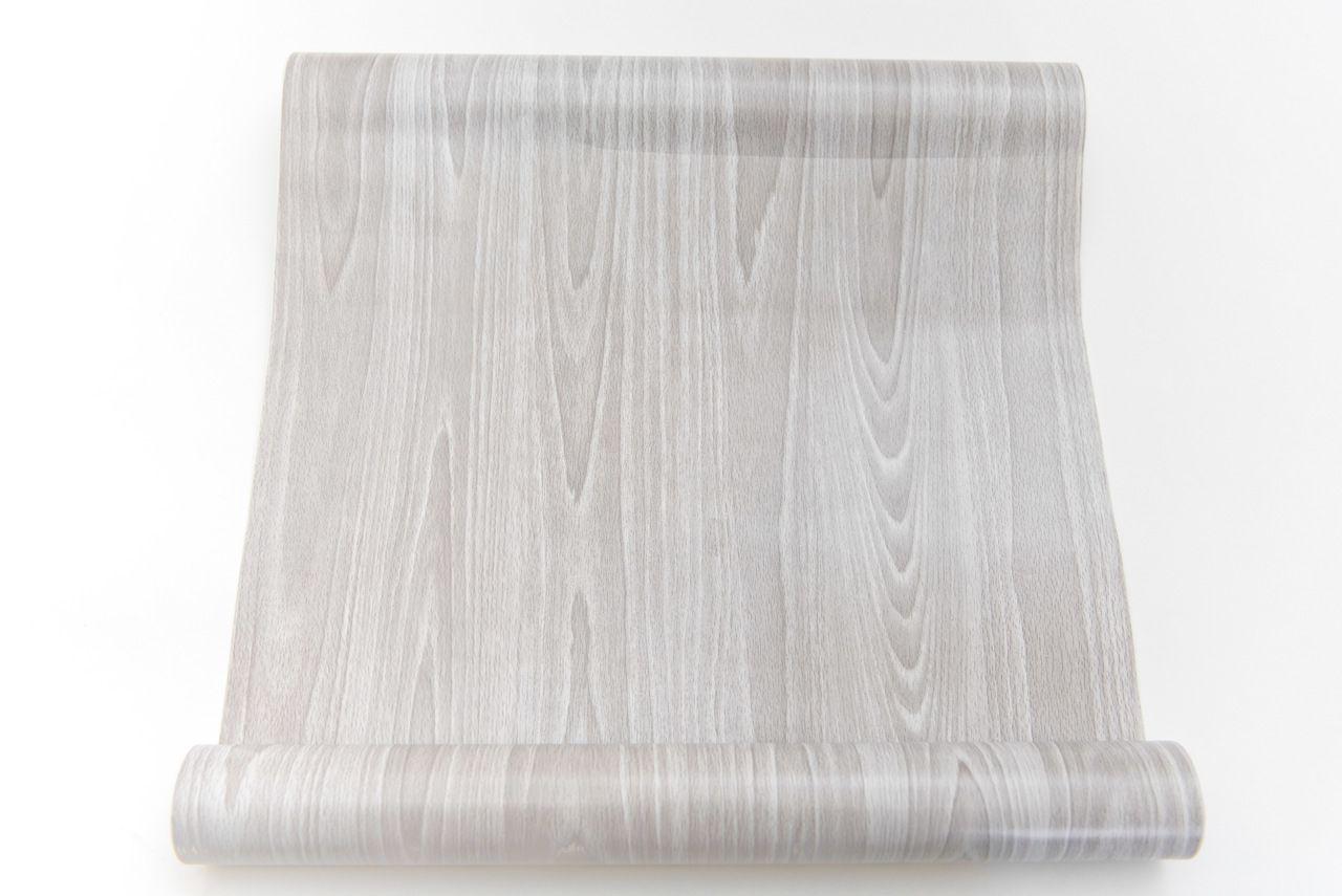 Papel Adesivo Contact De Parede Madeira Patina Branco  45 Cm X 10 Mts