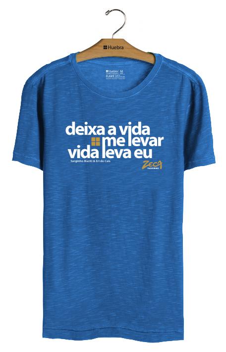 T- Shirt deixa a vida me levar