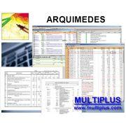 Software Arquimedes PRO versão 2020 (Licença Eletrônica) incluindo Orçamento, Planejamento e Medição de Obras