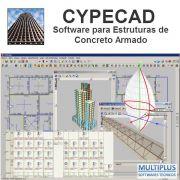 """Software CYPECAD LT30 V.2019 Avançado incluindo a modulação descrita em """"Itens Inclusos"""" integrado com o Software Metálicas 3D (MT32) V.2019 incluindo a modulação descrita em """"Itens Inclusos"""""""