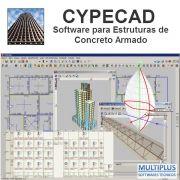 """Software CYPECAD LT50 Avançado versão 2019 incluindo a modulação descrita em """"Itens Inclusos"""" integrado com o Software Metálicas 3D (MT33)V.2019 incluindo a modulação descrita em """"Itens Inclusos"""""""