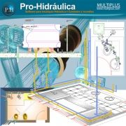 Software PRO-Hidraulica versão 16 incluindo Detalhamento, Dimensionamento e Incêndio
