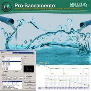 Software PRO-Saneamento versão 17 incluindo Exportação em IFC