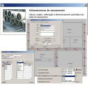Software Redes Urbanas de Esgoto versão 2018