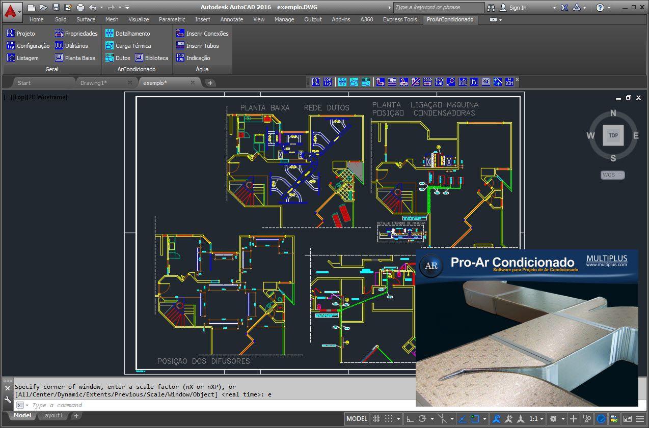 Software PRO-ArCondicionado versão 17 incluindo Exportação em IFC